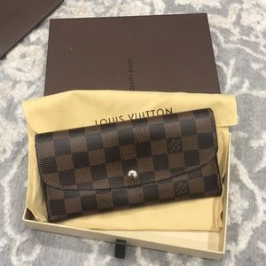 Louis Vuitton PF Emilie Damier Wallet